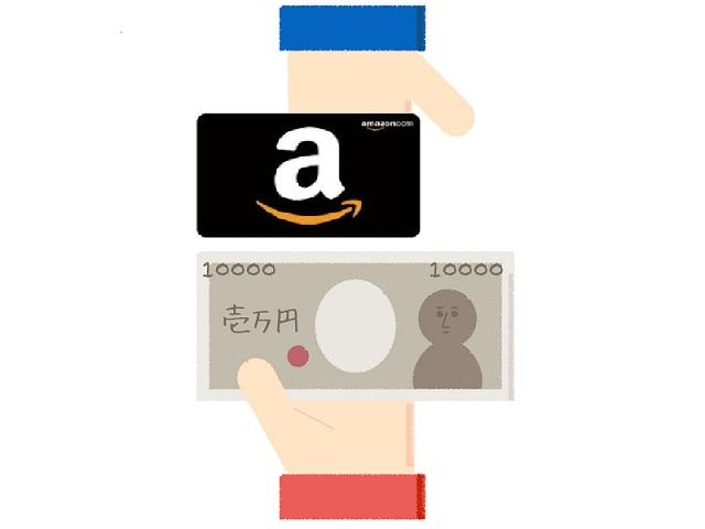 Amazonギフト券の現金化には買取サイトが一番
