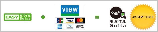 EASYモバイルSuicaにクレジットカード登録をするとモバイルSuicaへ